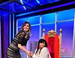Luciana Gimenez recebe Gretchen no programa