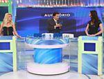Programa Silvio Santos recebe Antônia Fontenelle e Aline Franzoi
