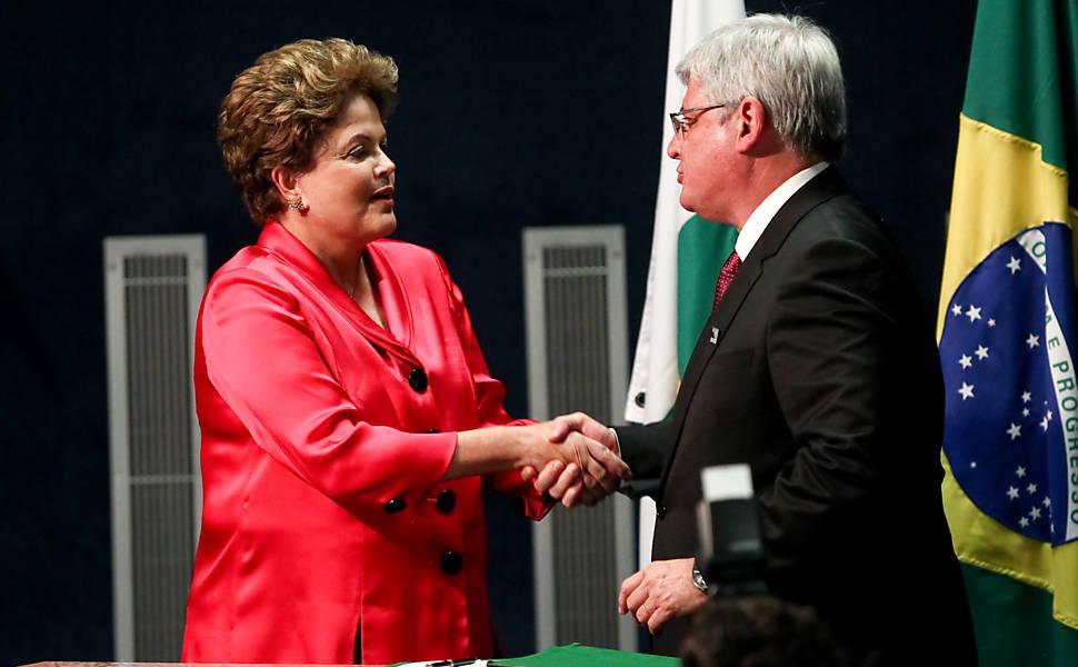 Posse de Rodrigo Janot, em 2013