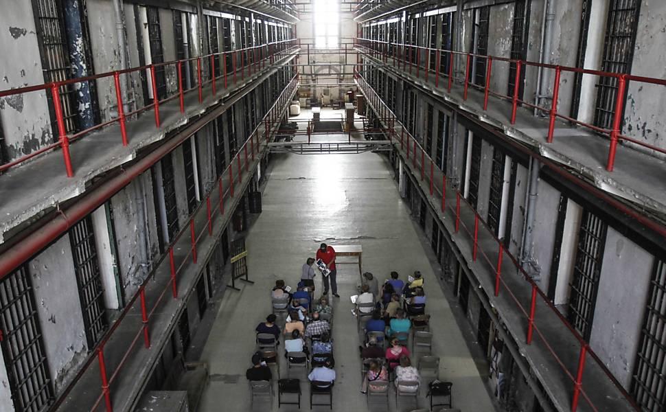 Tour em prisão dos EUA