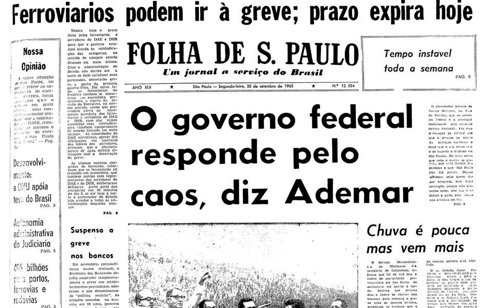 Há 50 anos - Setembro