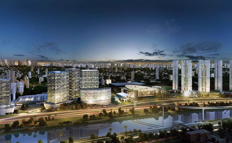 Novos empreendimentos multiúsos em São Paulo