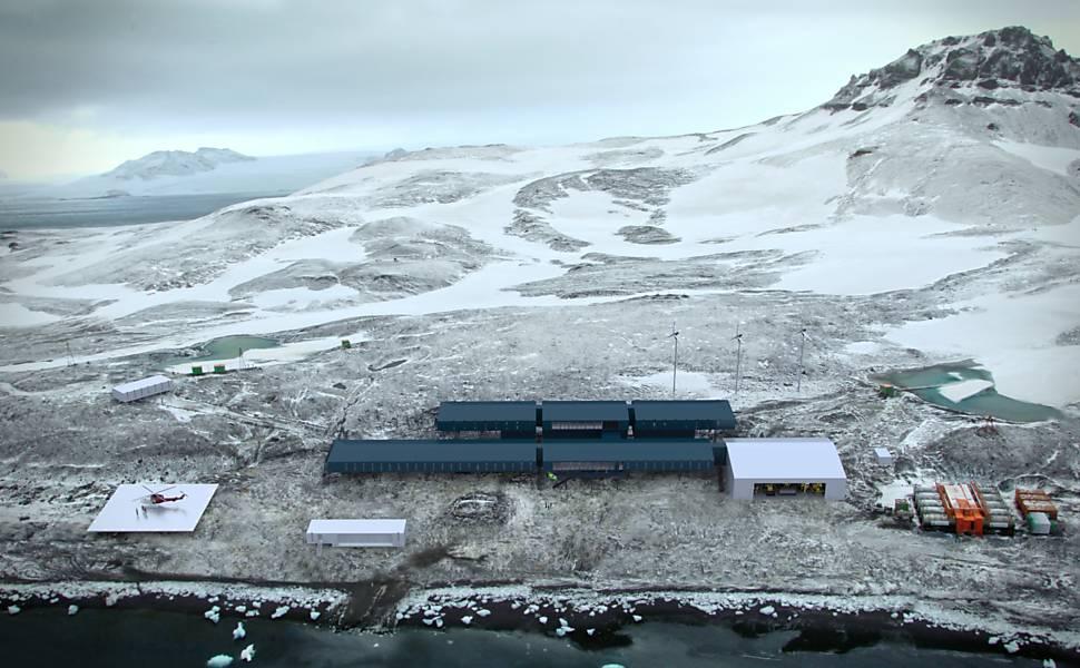Base brasileira na Antártida