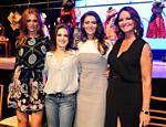 Cintia Dicker, Alessandra Maestrini, Maria Fernanda Candido e Luiza Brunet participam do quadro