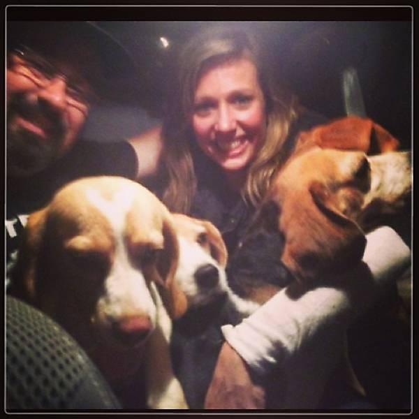 Famosos se mobilizam a favor dos beagles