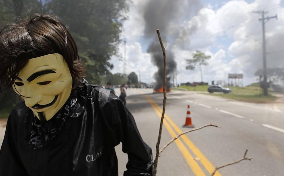 Protestos em São Roque