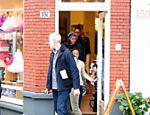 Katy Perry é fotografada em Amsterdã, na Holanda