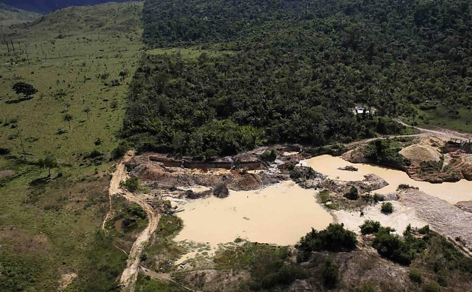 Desmatamento na Floresta Amazônica