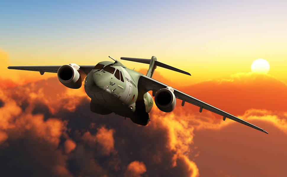 KC-390 da Embraer