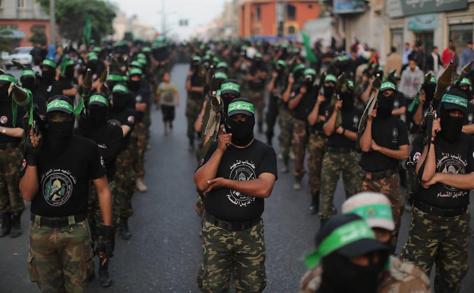 Desfile militar do Hamas