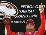 A vitória na Turquia, em 2006, a primeira da carreira