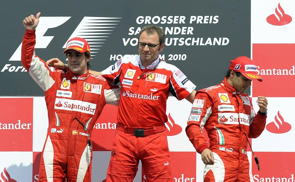 Momentos marcantes de Massa na Ferrari