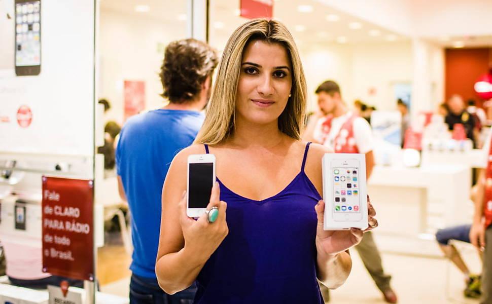 Lançamento do iPhone 5c e 5s