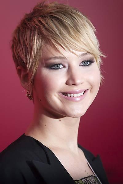 Inspire-se no cabelo de Jennifer Lawrence