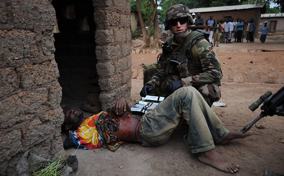 Violência na República Centro-Africana, em 2013