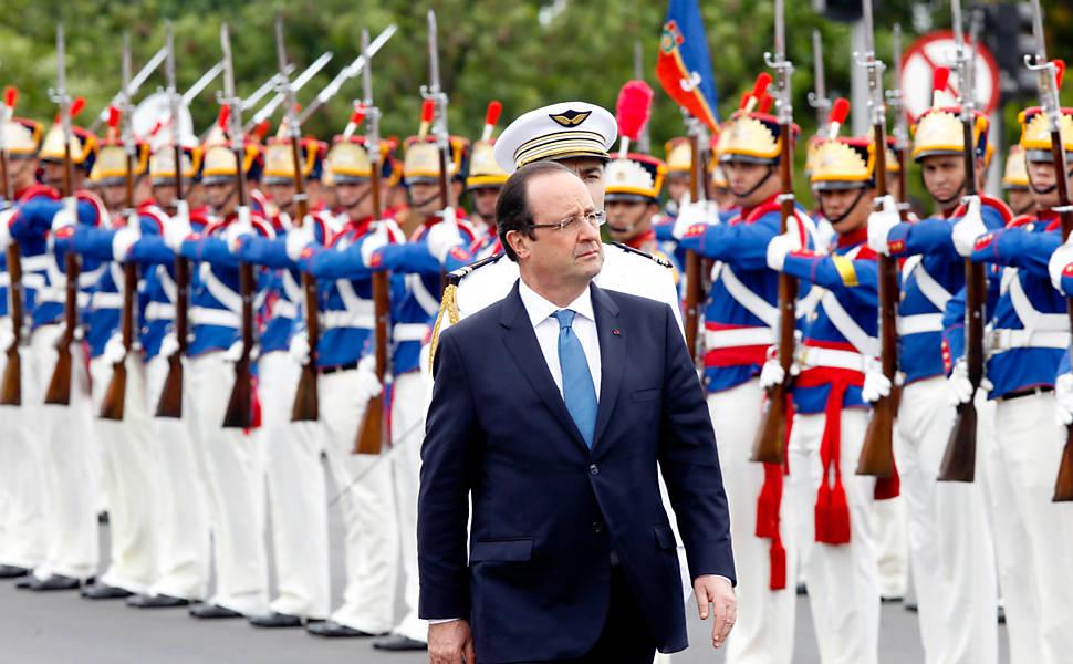Hollande no Brasil