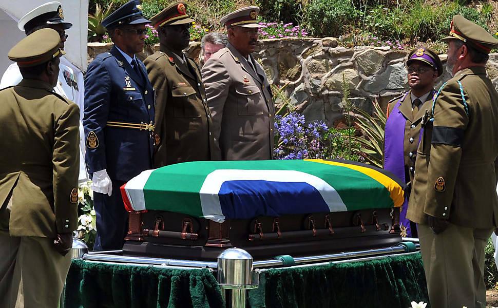 Enterro de Nelson Mandela
