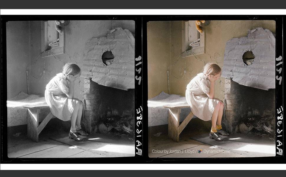 Artista dá nova vida a fotos históricas