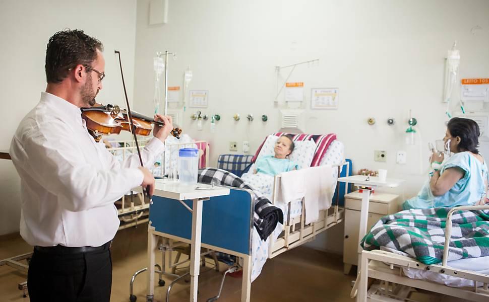 Música contra hipertensão