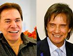 Roberto Carlos, que vai lançar um livro sobre os seus 50 anos de carreira, procurou Silvio Santos para pedir autorização para utilizar uma foto dos dois juntos em sua biografia