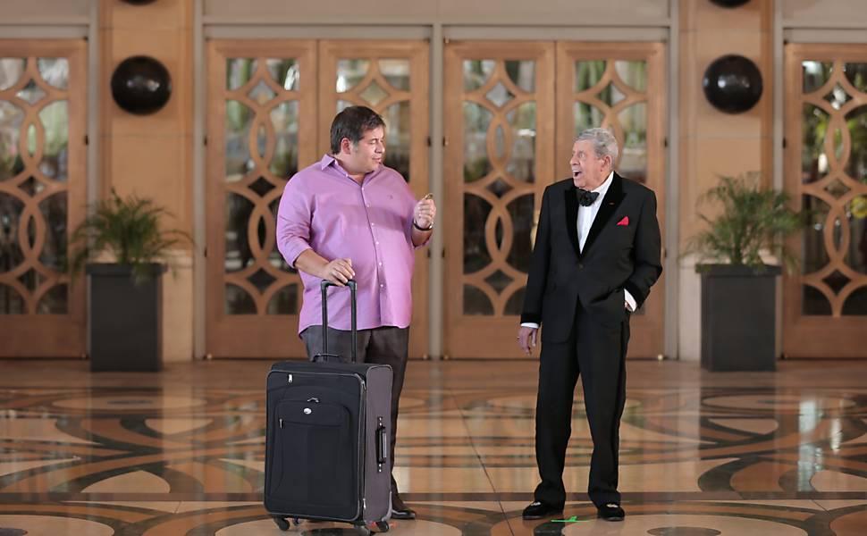 Jerry Lewis em comédia brasileira