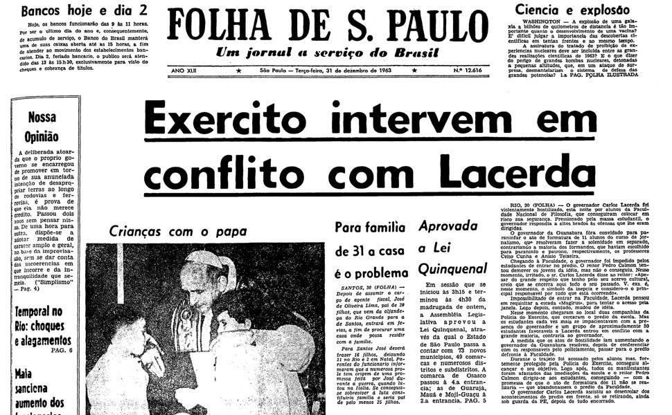 Há 50 anos - Dezembro