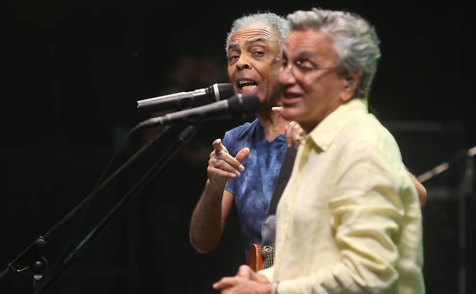 Gil e Caetano cantam no Réveillon em Salvador