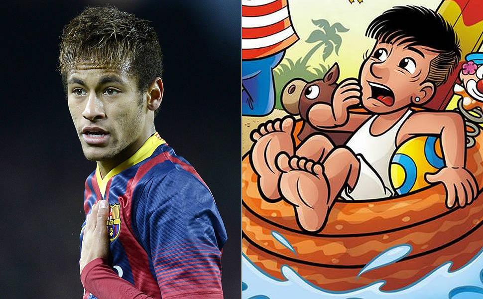 Novo corte de cabelo de Neymar