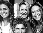 Giovanna Antonelli, Reynaldo Gianecchini e as sócias Anisia Paula Henrique e Andréa Henrique