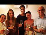 Giovanna Antonelli comemora primeira degustação entre sócios de seu restaurante em sociedade com Reynaldo Gianecchini