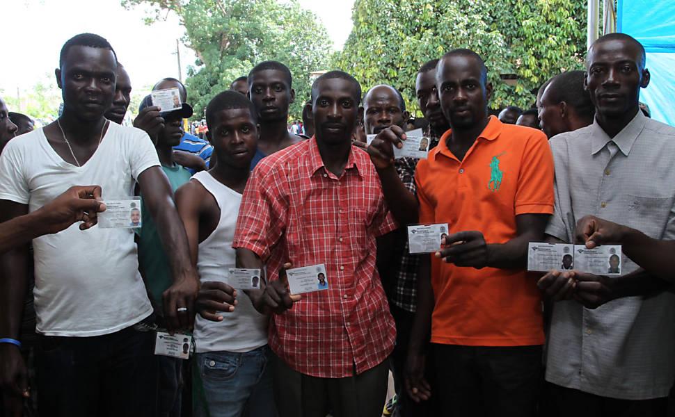 Abrigo para imigrantes haitianos no Acre