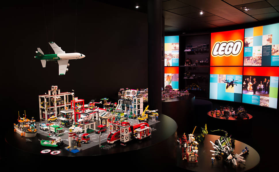 Fábrica da Lego em Billund, na Dinamarca