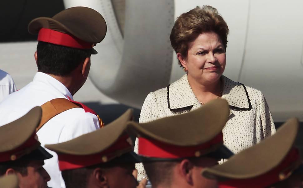 Dilma em Cuba