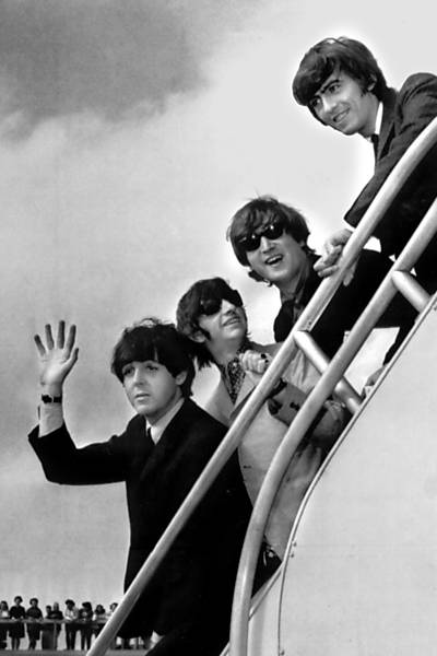 Beatles invadem a América