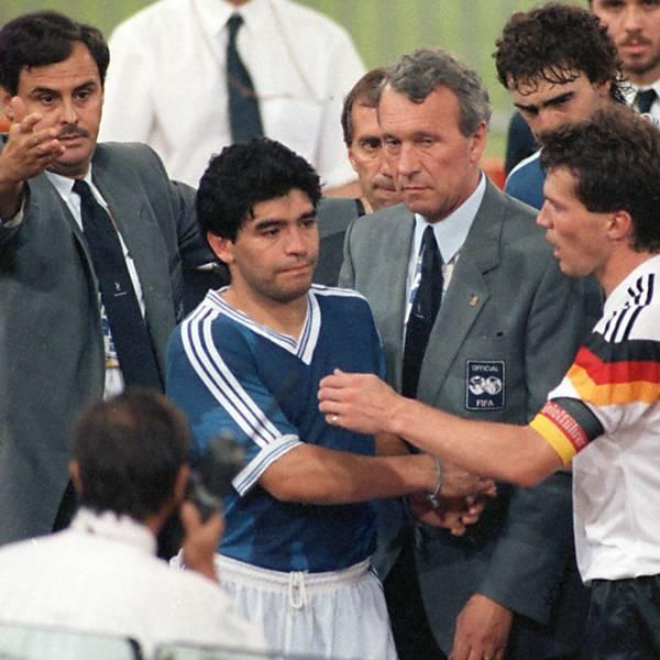 Confrontos históricos entre Alemanha e Argentina