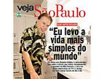 Silvio Santos na capa da