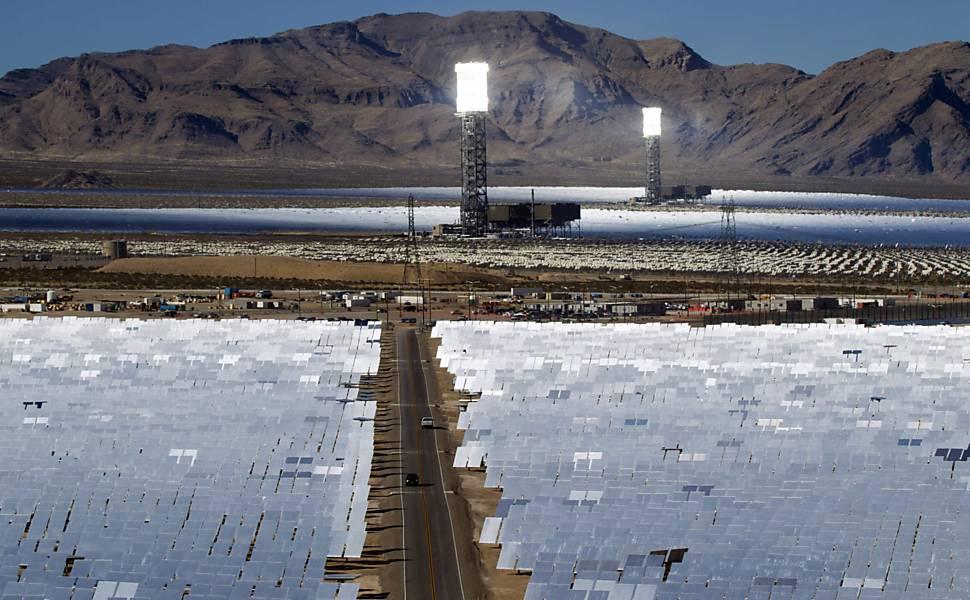 A maior usina solar do mundo