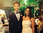 Carol Castro e Raphael Sander se casam em cerimônia discreta