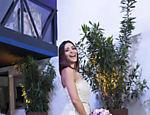 Alexandre Herchcovitch assina vestido de casamento de Carol Castro e traje de Raphael Sander