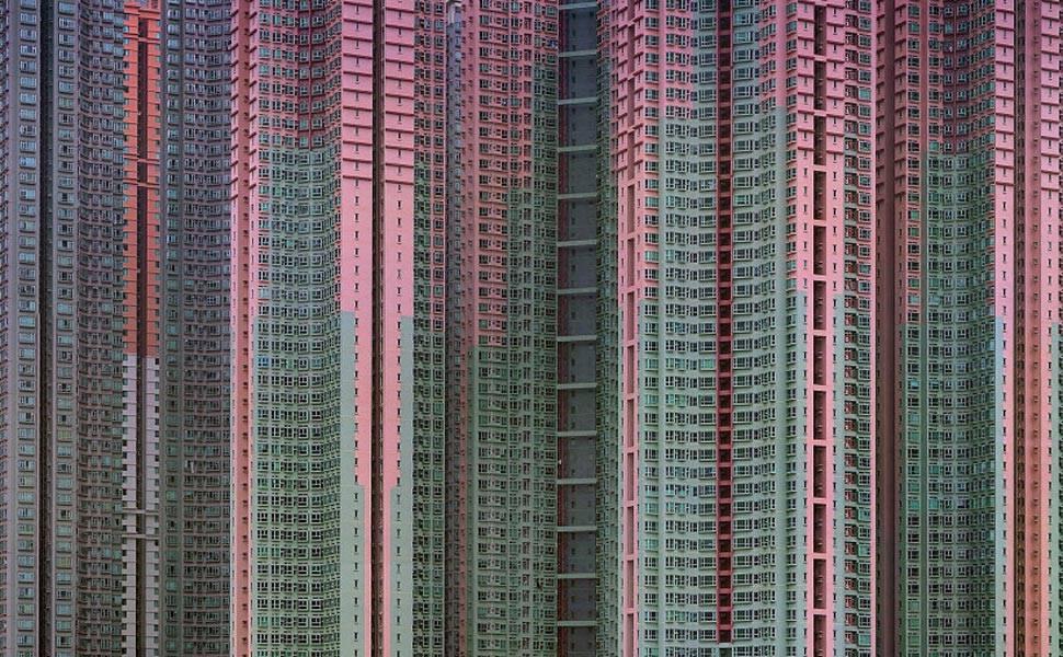 Fotógrafo retrata prédios amontoados na China
