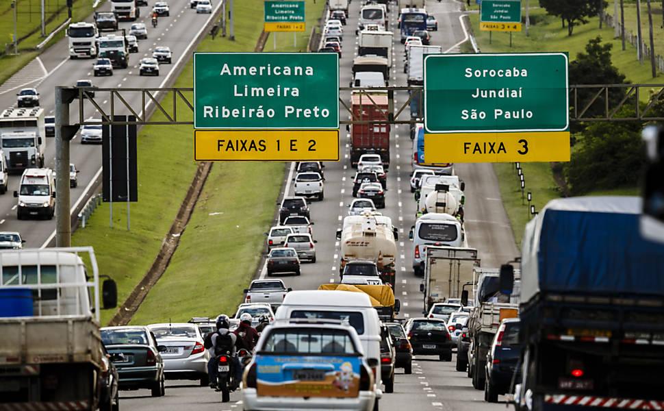 Trânsito em Campinas