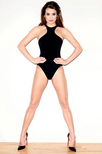 Veja imagens da atriz Lea Michele