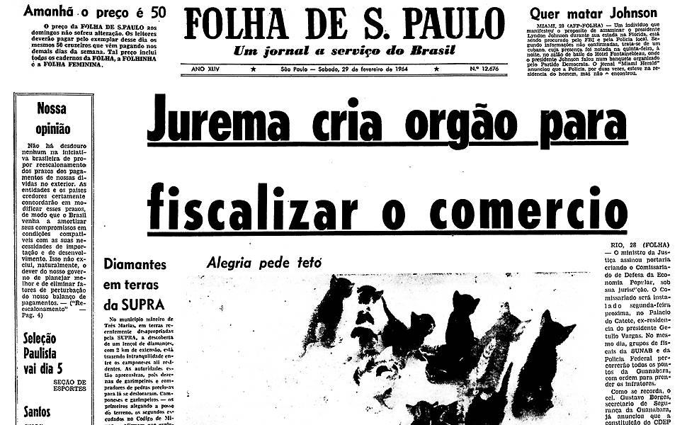 Há 50 anos - Fevereiro