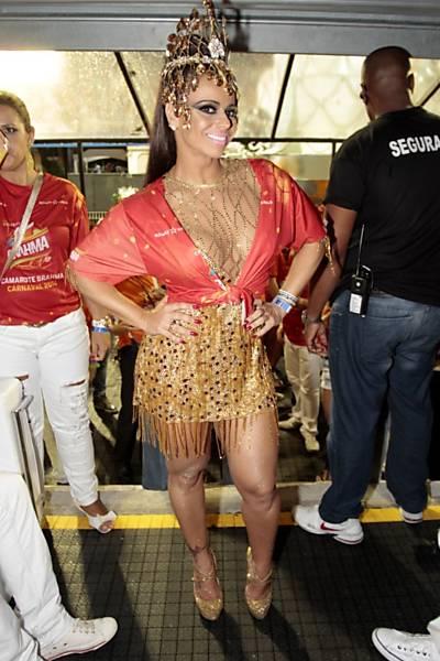 Celebridades no Carnaval de São Paulo