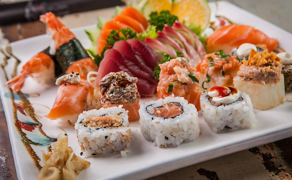 Comida japonesa na Restaurant Week