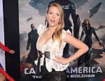 Scarlett Johansson na première do filme