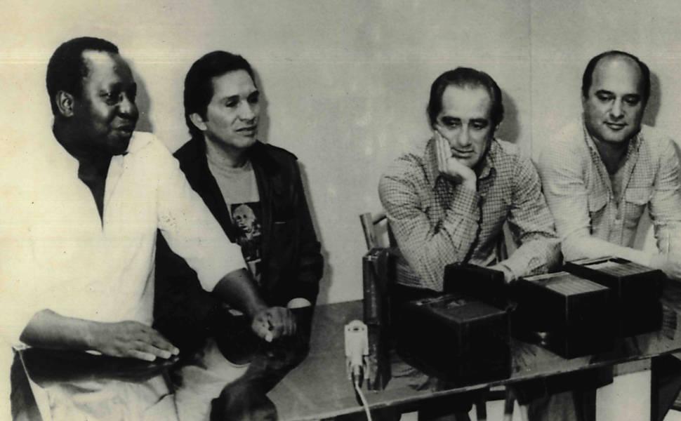 Veja imagens históricas do quarteto de 'Os Trapalhões'