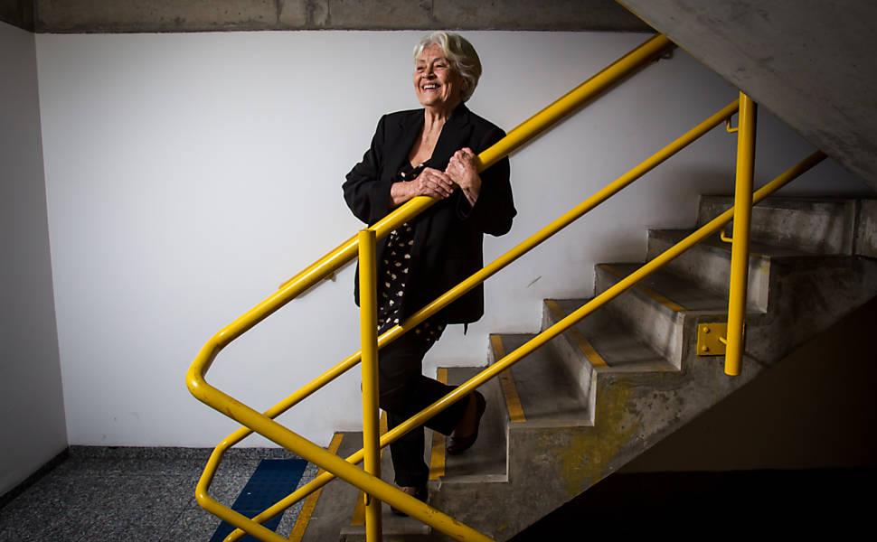 Escritora Adélia Prado no Sesc Vila Mariana