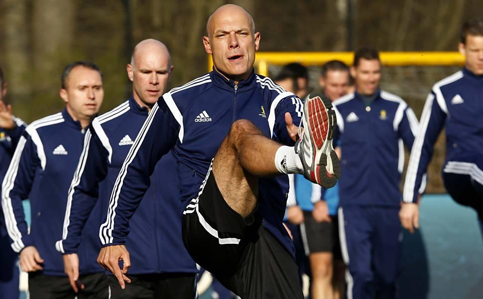 Preparação dos árbitros para a Copa
