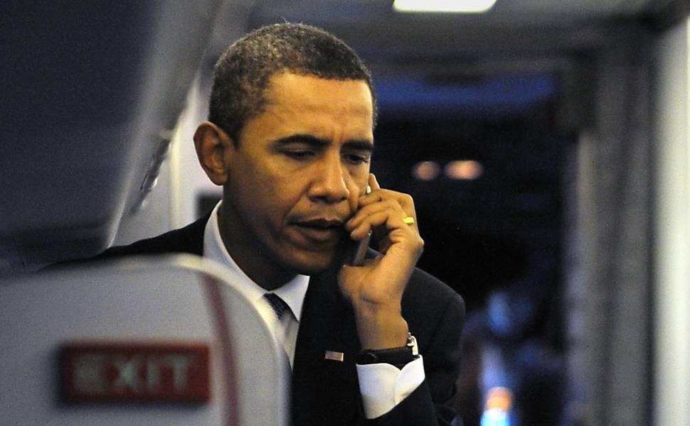 Os telefones dos líderes mundiais